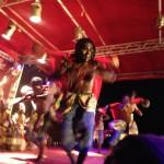 Dansföreställning i Lomé